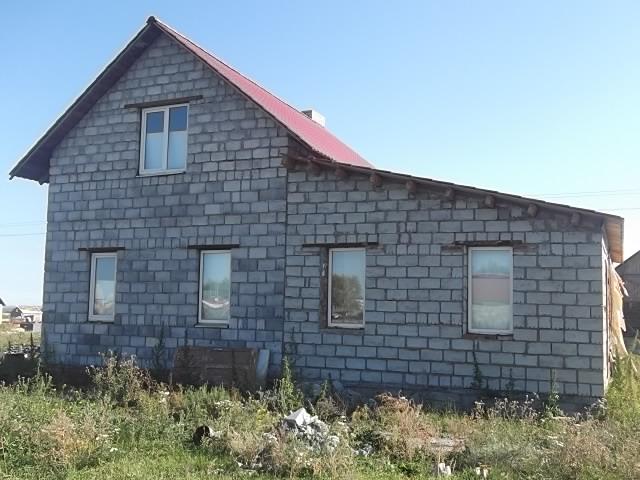 Дом построенный из шлакоблока