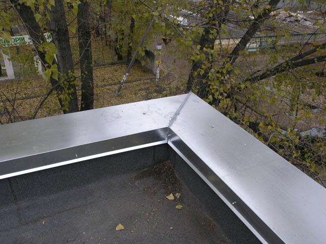 Парапет на крыше