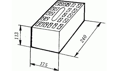 Размеры силикатного кирпича