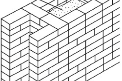 Схема колодцевой кирпичной кладки