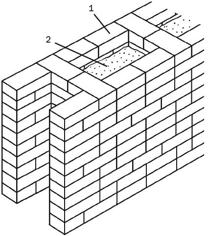 Схема колодцевой кирпичной