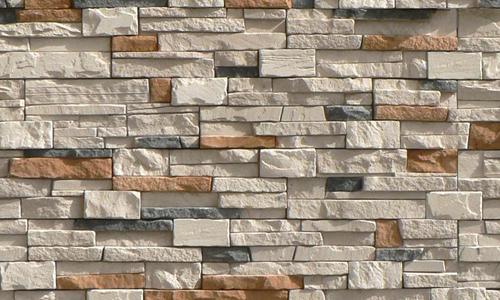 Стена из декоративного кирпича