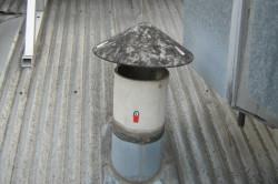 Асбестоцементные трубы для дымохода
