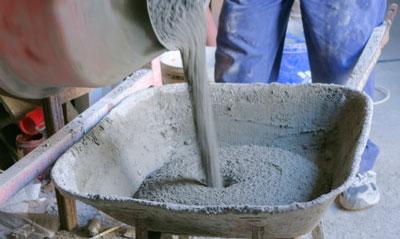 Цементный раствор для кирпича.