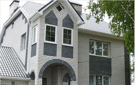 Дом построенный из силикатного кирпича