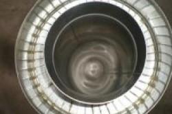 Нержавеющие элементы в утепленных дымоходных трубах