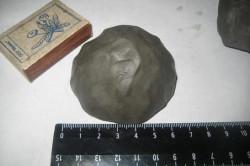 Высушенный глиняный шарик - один из способ определения оптимальной структуры глиняного теста.