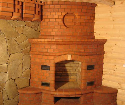 Кладка кирпичных печей для бани своими руками фото 9