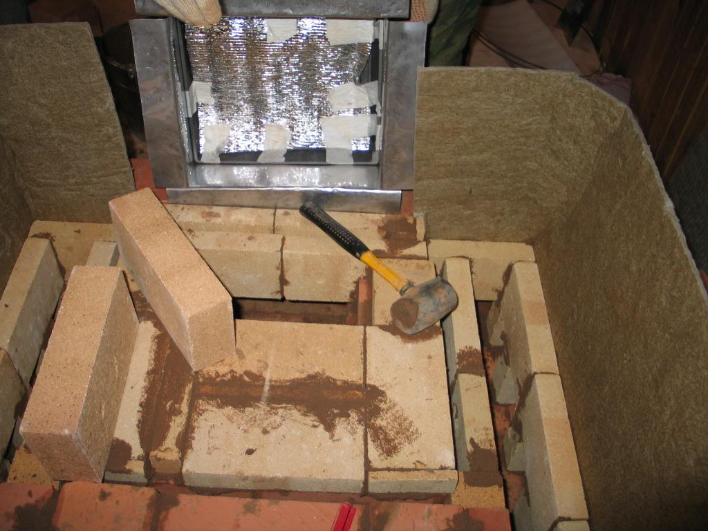 русская печь: схема кладки и порядовка