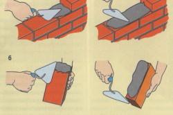 Приспособления для кладки кирпича своими руками