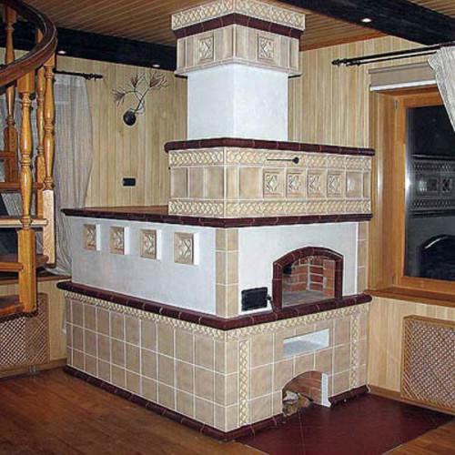 Отопительная печь в доме
