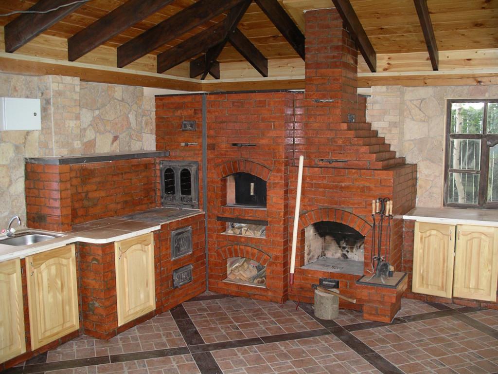 Кирпичная отопительная печь для дачи своими руками фото 872