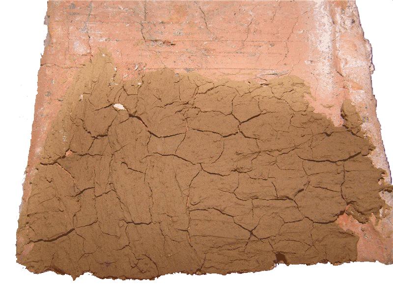 Вид неправильного раствора - тощая глина