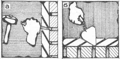 Расшивка швов