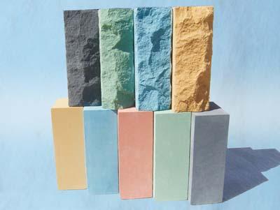 Рельефный силикатный кирпич