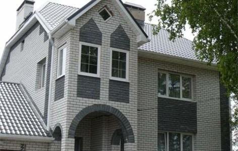 Дом из силикатного кирпича.
