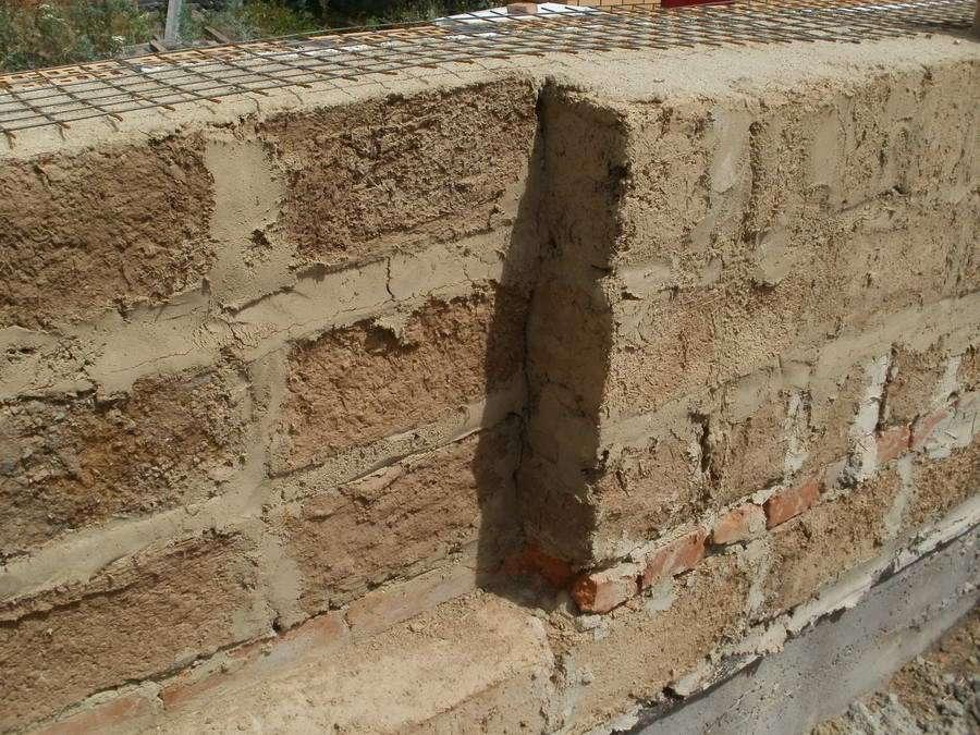 Штукатурка саманных стен
