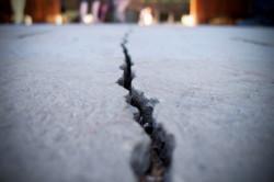 растрескивание цемента от холода