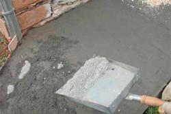 Способ железнение цементом