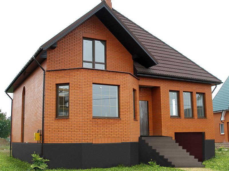 Кирпич пользуется большой популярностью в строительстве.