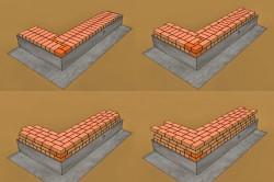 Примеры кладки