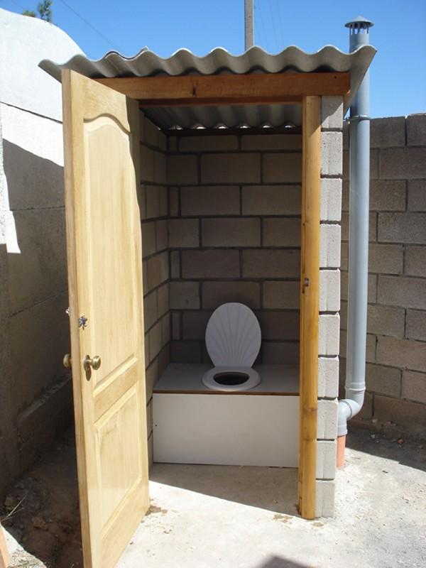 Туалет с душем на даче своими руками