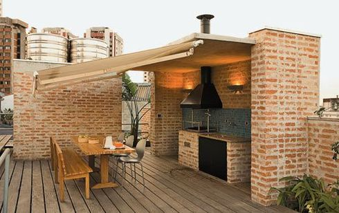 Фото мангалов из кирпича с крышей своими руками фото 212