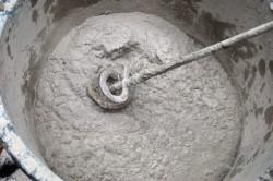 Приготовление раствора для брусчатки