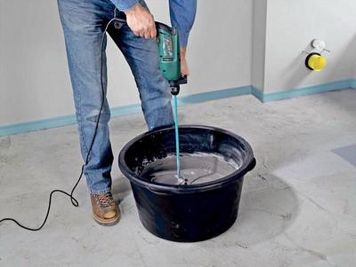 Как сделать цементную смесь фото 757