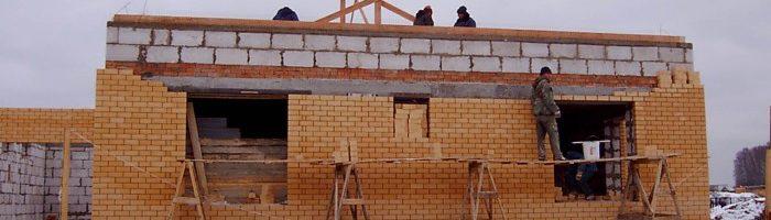 Строительство кирпичного дома своими руками: виды кладки, технология,  пошаговая инструкция