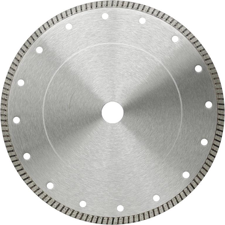 Алмазный диск с турбированной кромкой