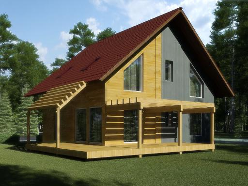 Из чего лучше строить дом: кирпич или дерево.
