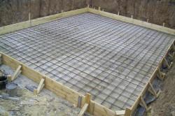 Железобетонная плита в основе дома