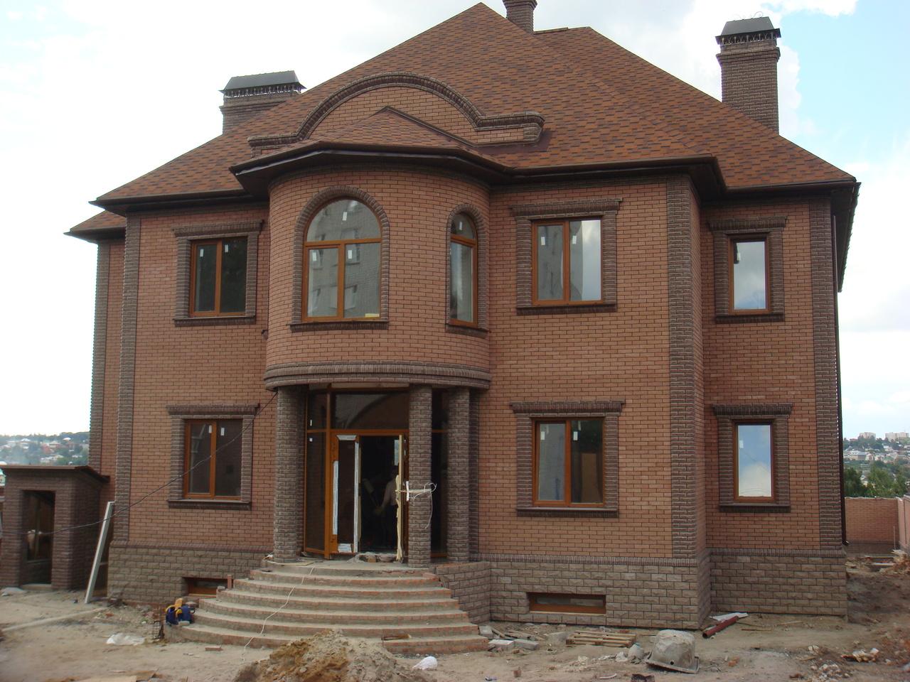 Cтроительство кирпичных домов.