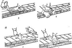Схема кладки дымохода из кирпича