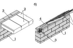 Конструктивное поперечное армирование кладки