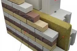 Облицовка стены гиперпрессованным кирпичом