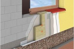 Отделка фасада из газобетона