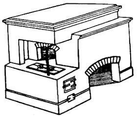 Печь лежанка порядовка