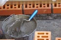 Изготовление кладочного раствора
