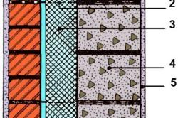 Схема трехслойной стенки