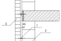 Схема установки анкеров в газобетонную стену
