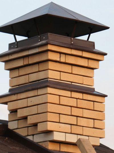 отопление частный дом дымоход