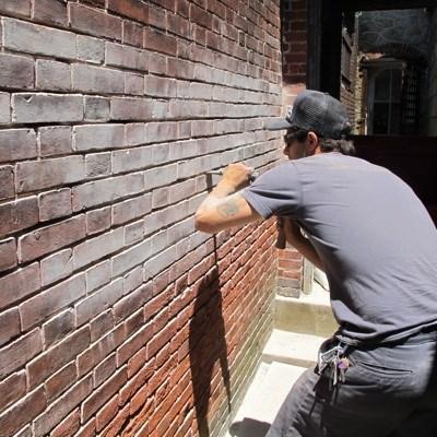 работы по ремонту кирпичной кладки