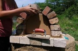 Сооружение арки по шаблону