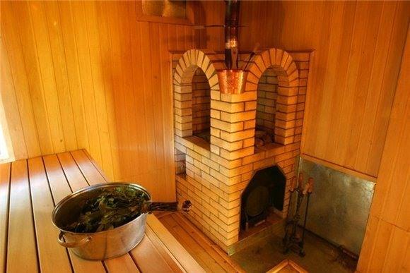 В бане печь из кирпича своими руками для 580