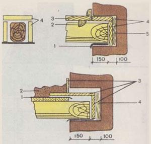 Опирание балок перекрытий на кирпичные стены