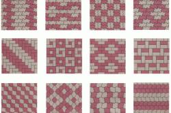 Схемы укладки тротуарной плитки