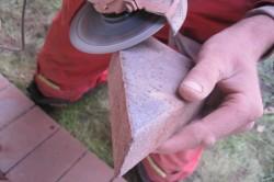 Обработка краев плитки