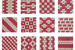 Наиболее популярные схемы укладки различных видов тротуарной плитки